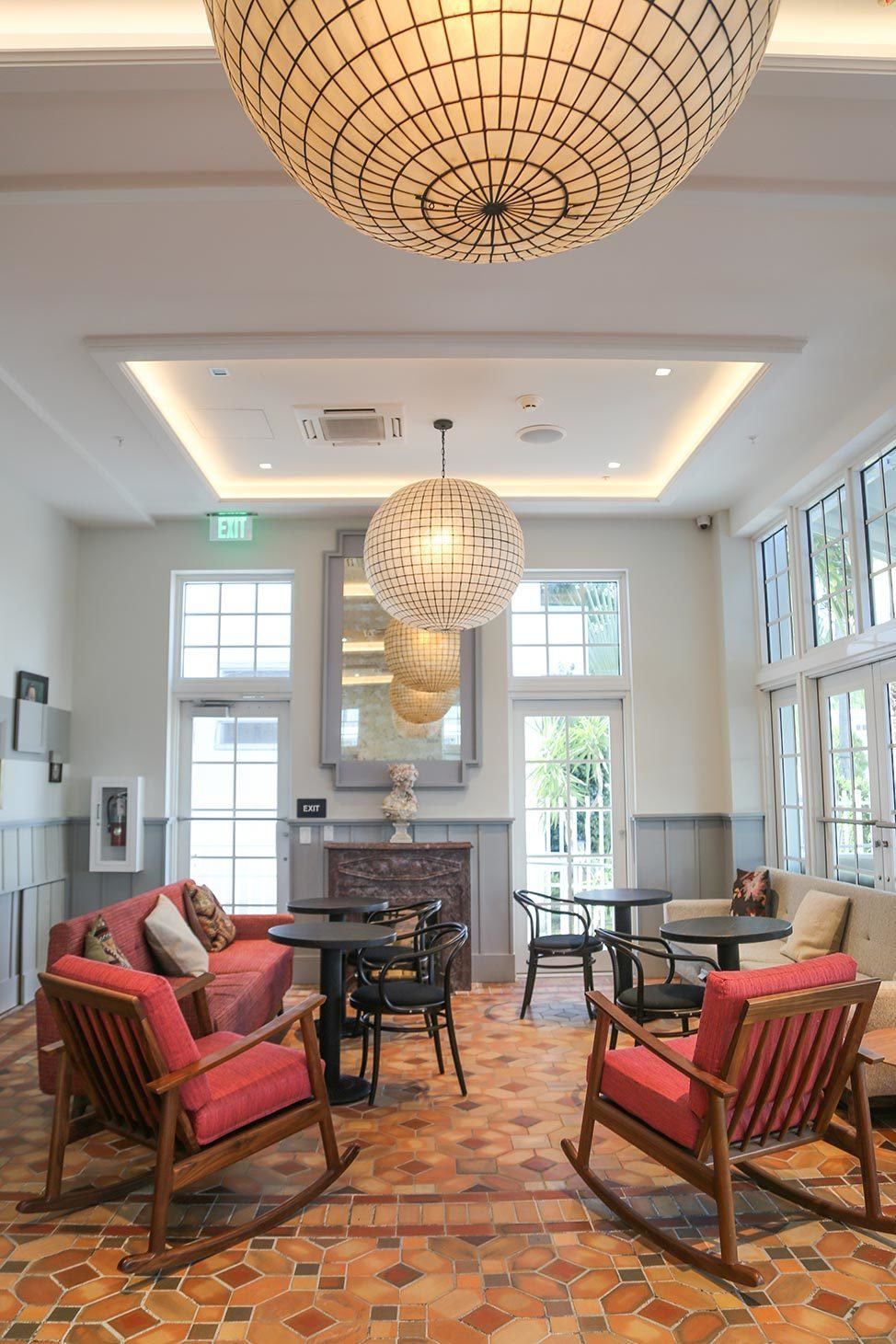 Lobby at The Julia Miami