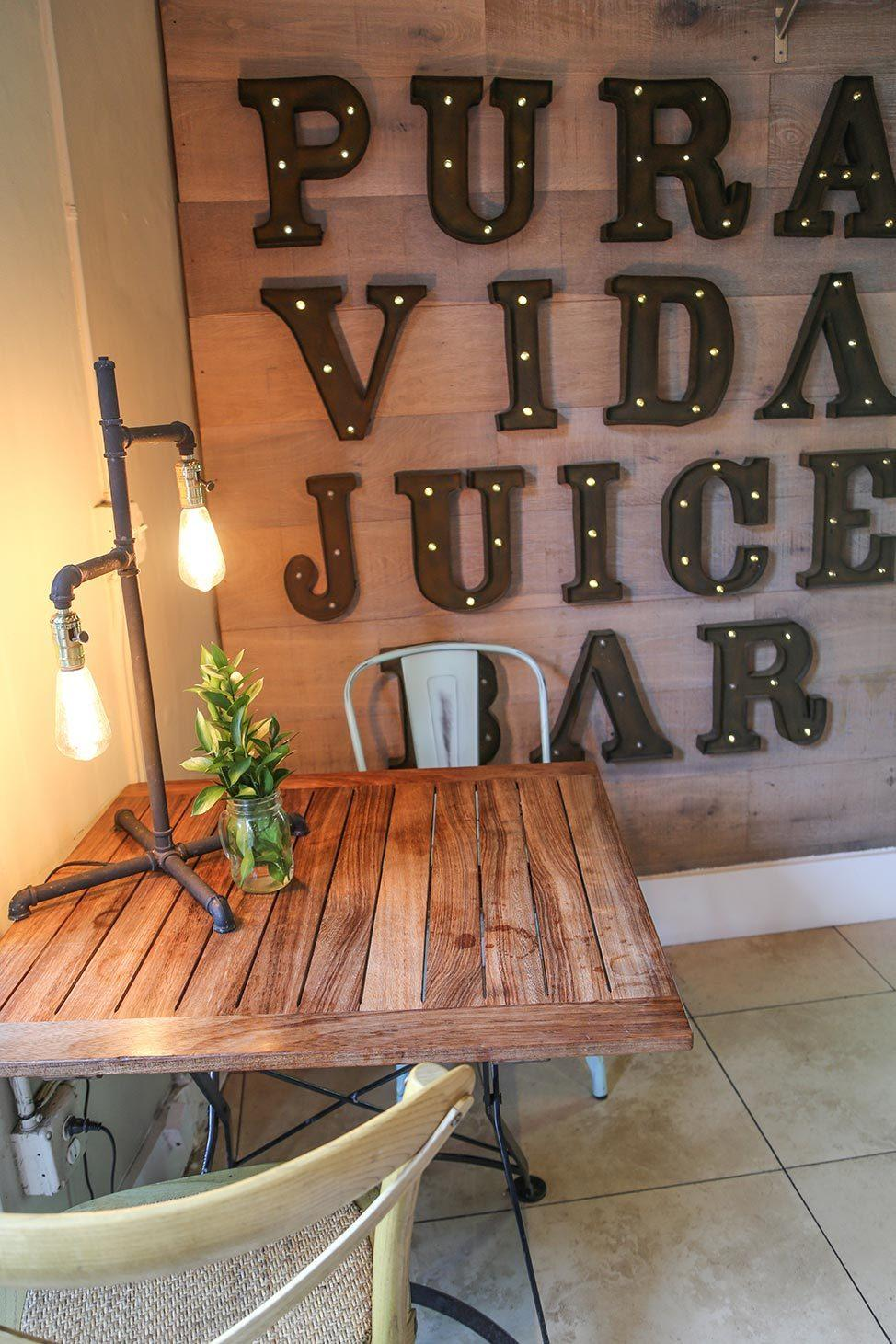 Pura Vida Juice Bar Miami