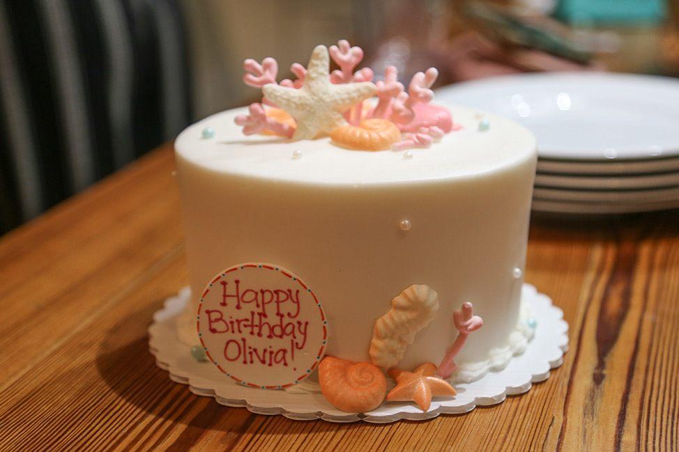 Shell Birthday Cake Key West
