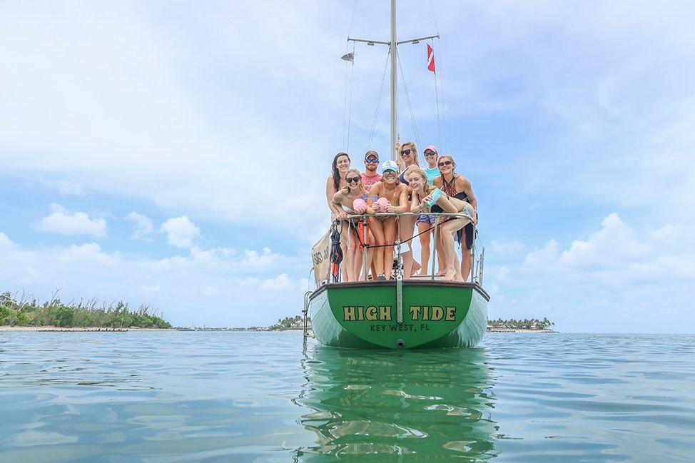 Key West Bachelorette Sailing Charter