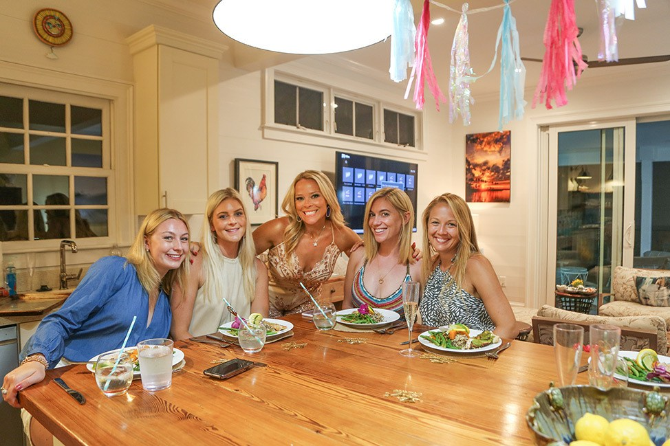 Key West Bachelorette Party Catered Dinner