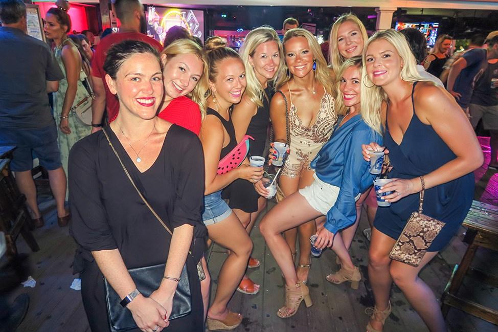 Key West Bachelorette Party Nightlife