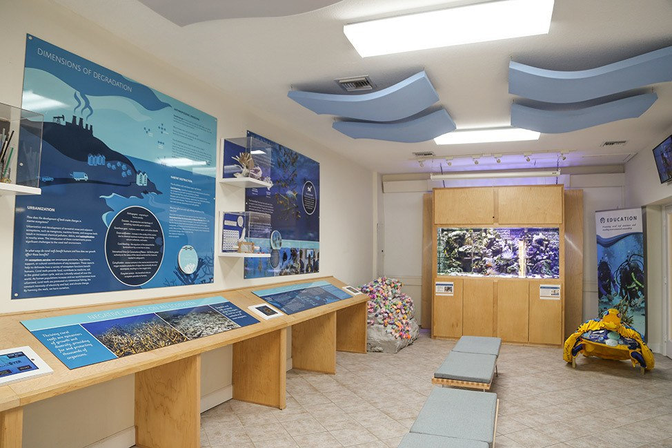 The CRF Coral Research Foundation in Key Largo, Florida