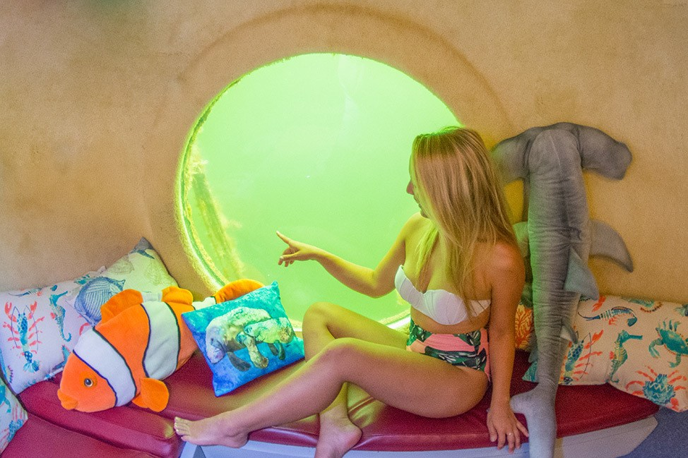 A night at Jules Undersea Lodge in Key Largo, Florida