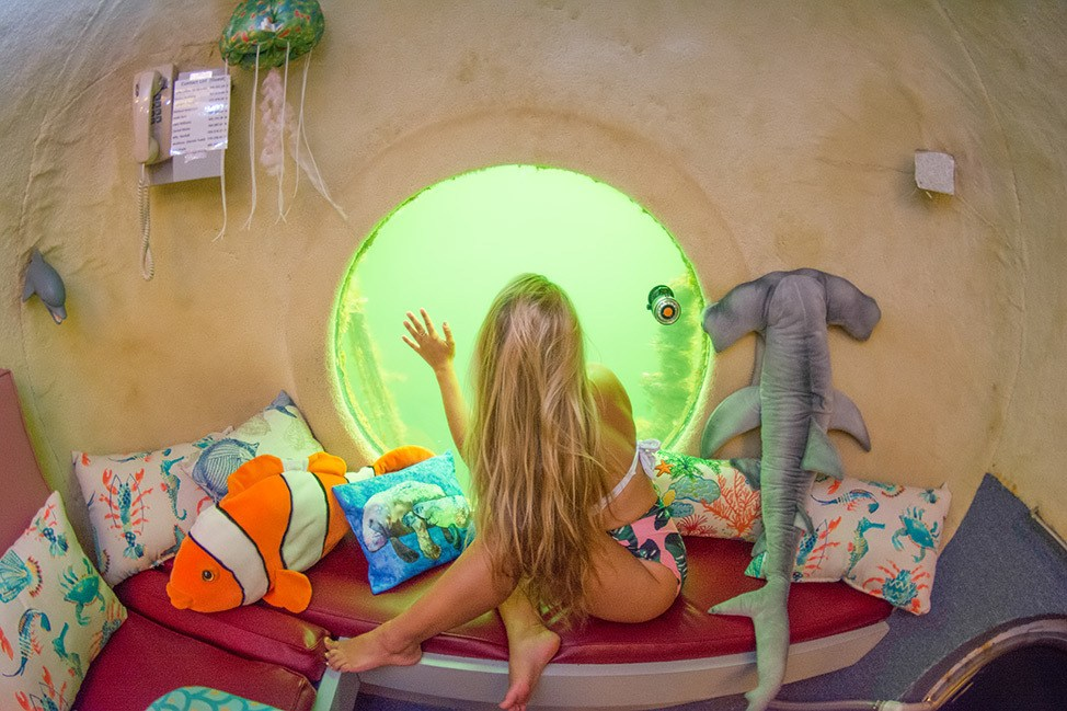 Review of the Jules Undersea Lodge in Key Largo, Florida