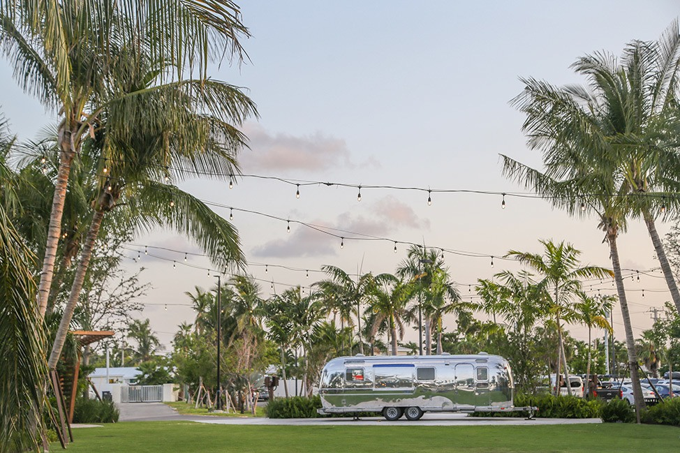 Airstream at The Gates Hotel Key West