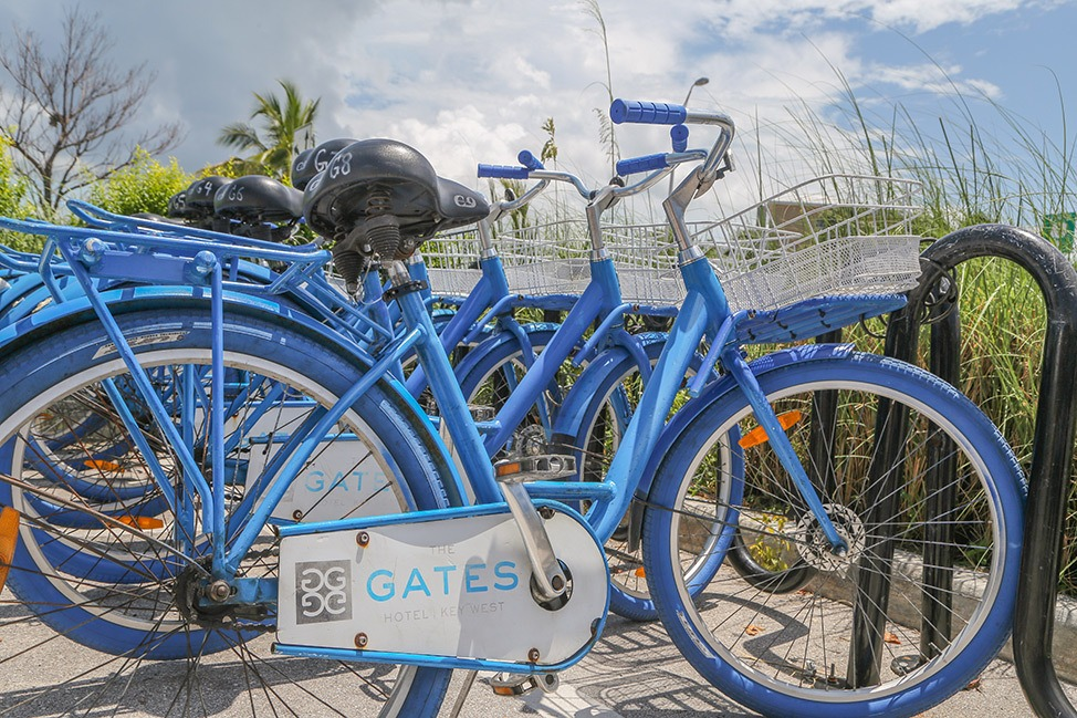 Free Bicycles at The Gates Hotel Key West