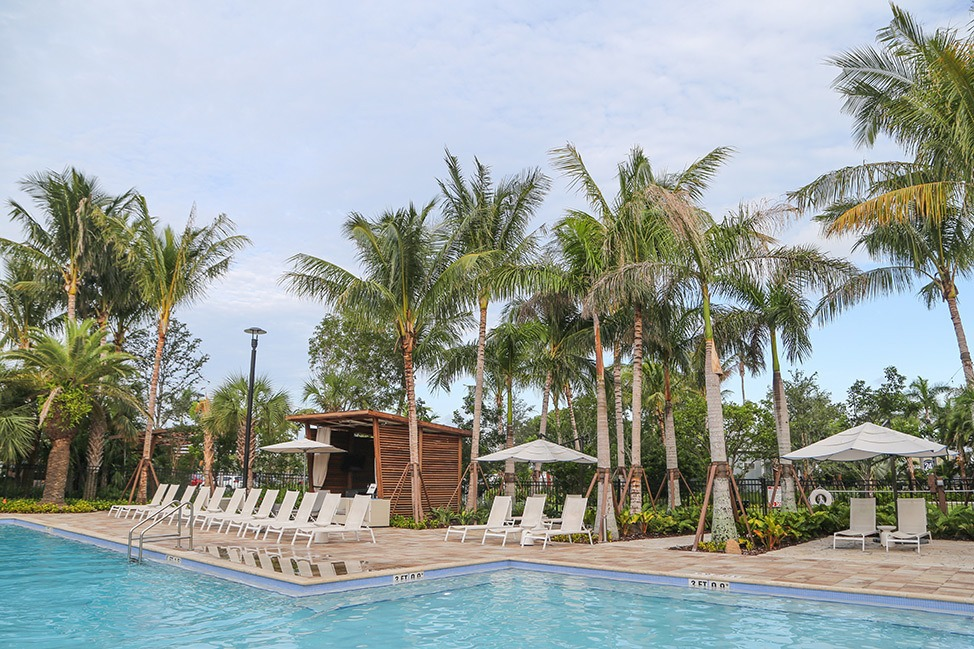 The Pool at The Gates Hotel Key West