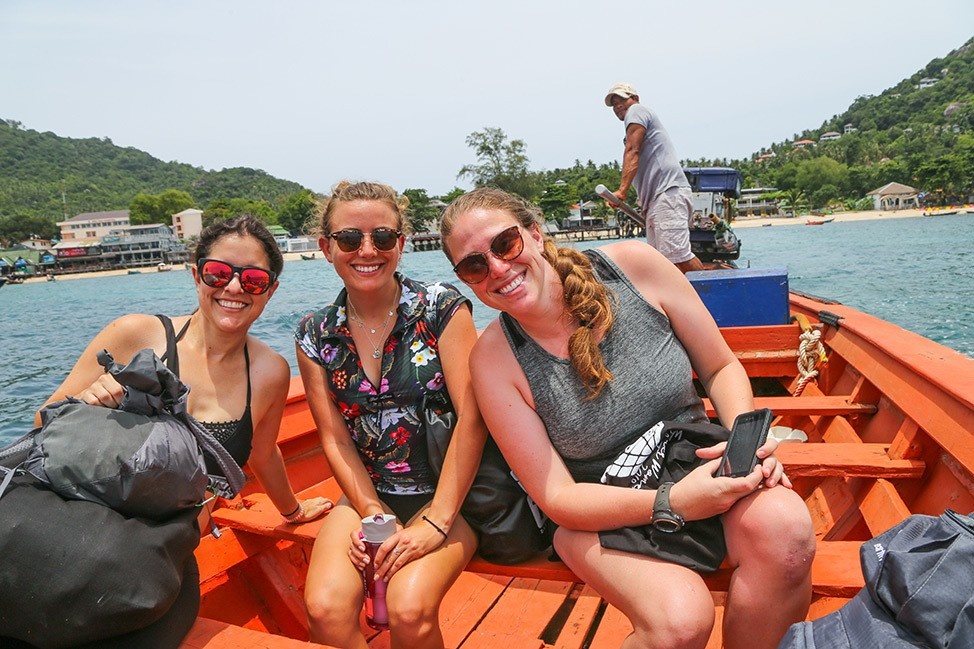 Diving with Master Divers on Koh Tao