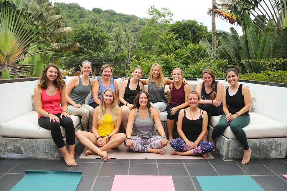 Wander Women Dive and Yoga Retreat, Koh Tao, Thailand