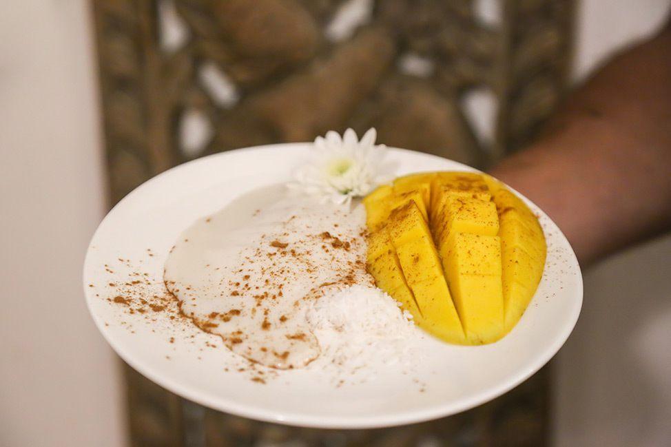 Dessert at Wander Women Dive and Yoga Retreats, Koh Tao, Thailand