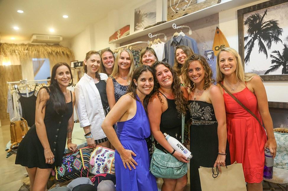 Private shopping night at Flip Flop and Treacle at Wander Women Dive and Yoga Retreats, Koh Tao, Thailand