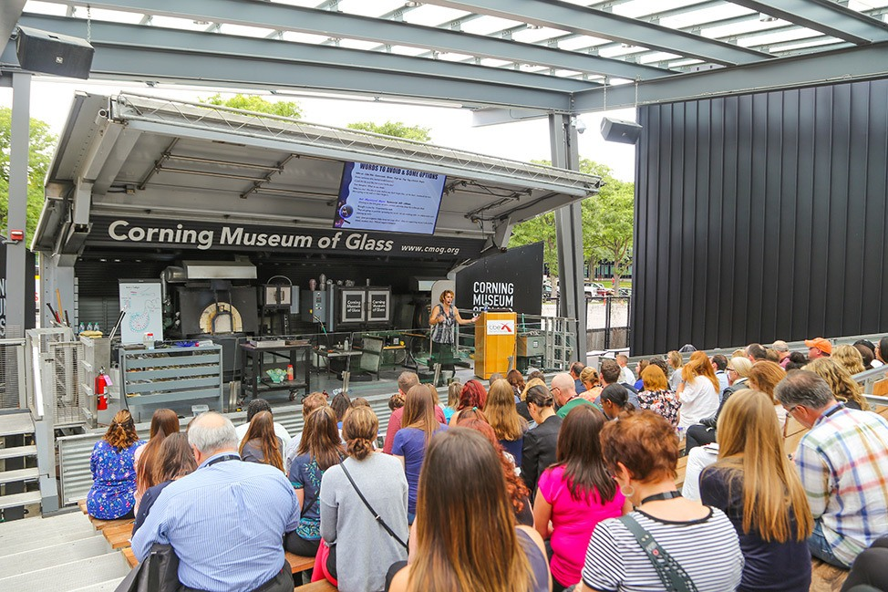 TBEX 2018 at the Corning Museum of Glass