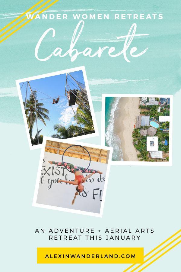 Wander Women Cabarete: An Adventure + Aerial Arts Retreat, January 10-15, 2020