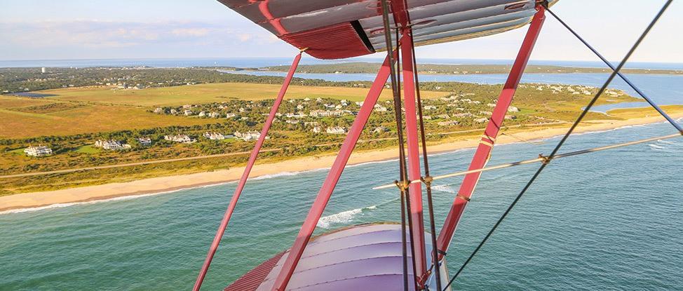 My Island from Above: A Spontaneous Martha's Vineyard Biplane Adventure thumbnail