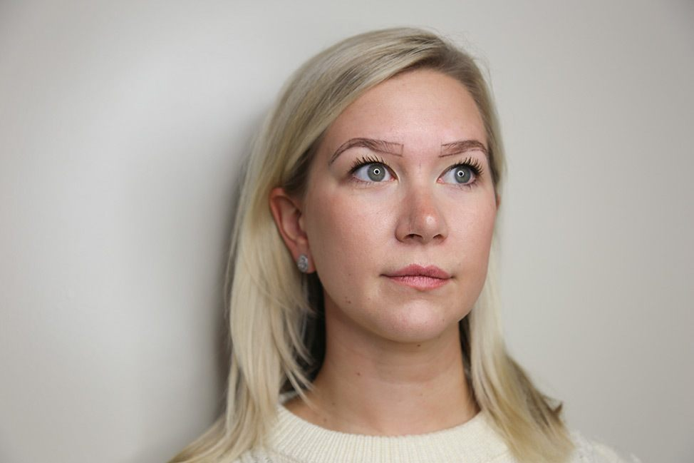 Blonde microblading review