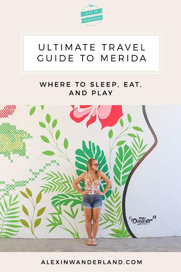 Merida travel itinerary