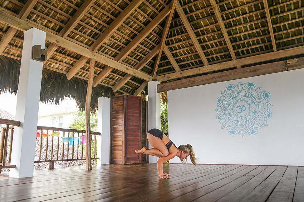 Yoga at Extreme Hotel Cabarete