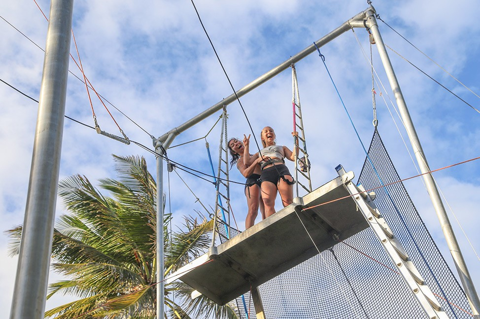 Flying Trapeze at Extreme Circus Cabarete