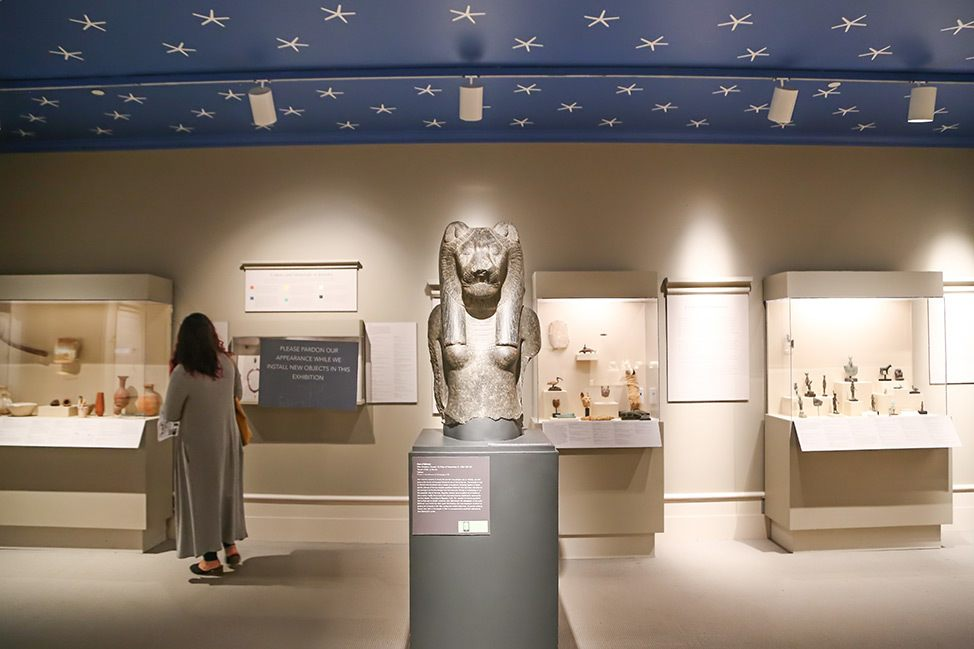 Egypt exhibit at the Albany Institute of History & Art