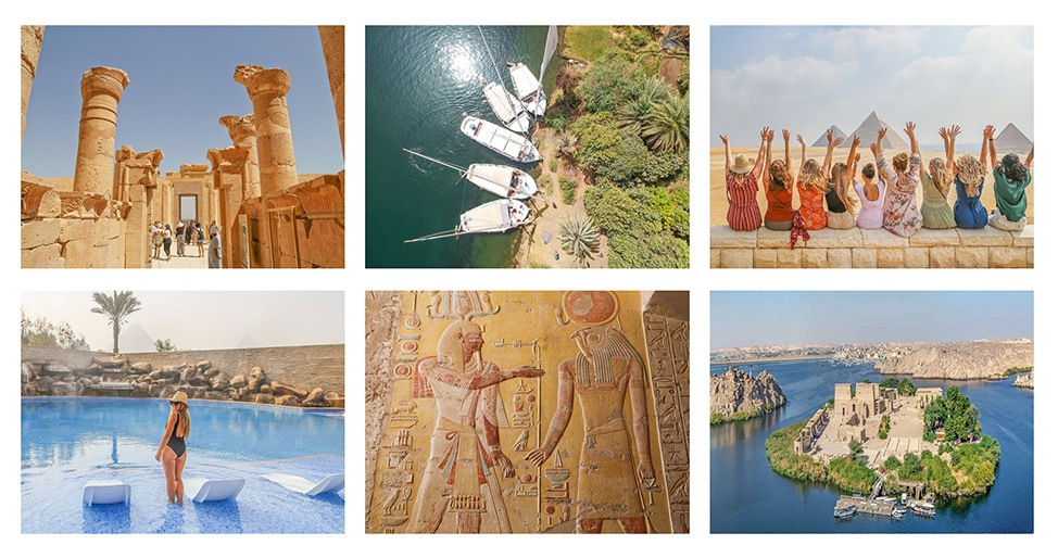 Wander Women Wednesdays: Announcing Our (Nearly Sold Out!) Yoga + Ancient Adventures Retreat in Egypt thumbnail