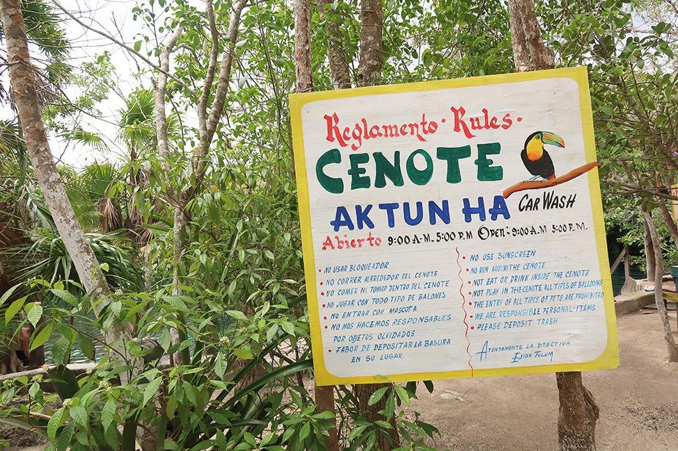 Carwash Cenote, Scuba Diving in Tulum