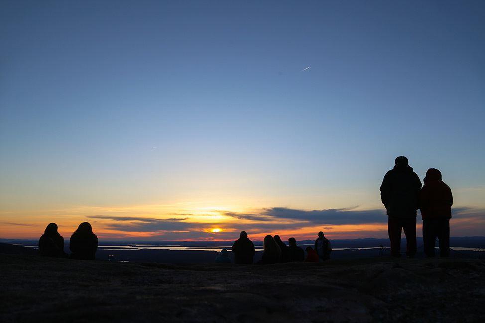 Acadia National Park Sunset, Maine