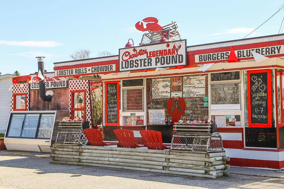 Charlotte's Legendary Lobster Pound in Acadia National Park, Maine