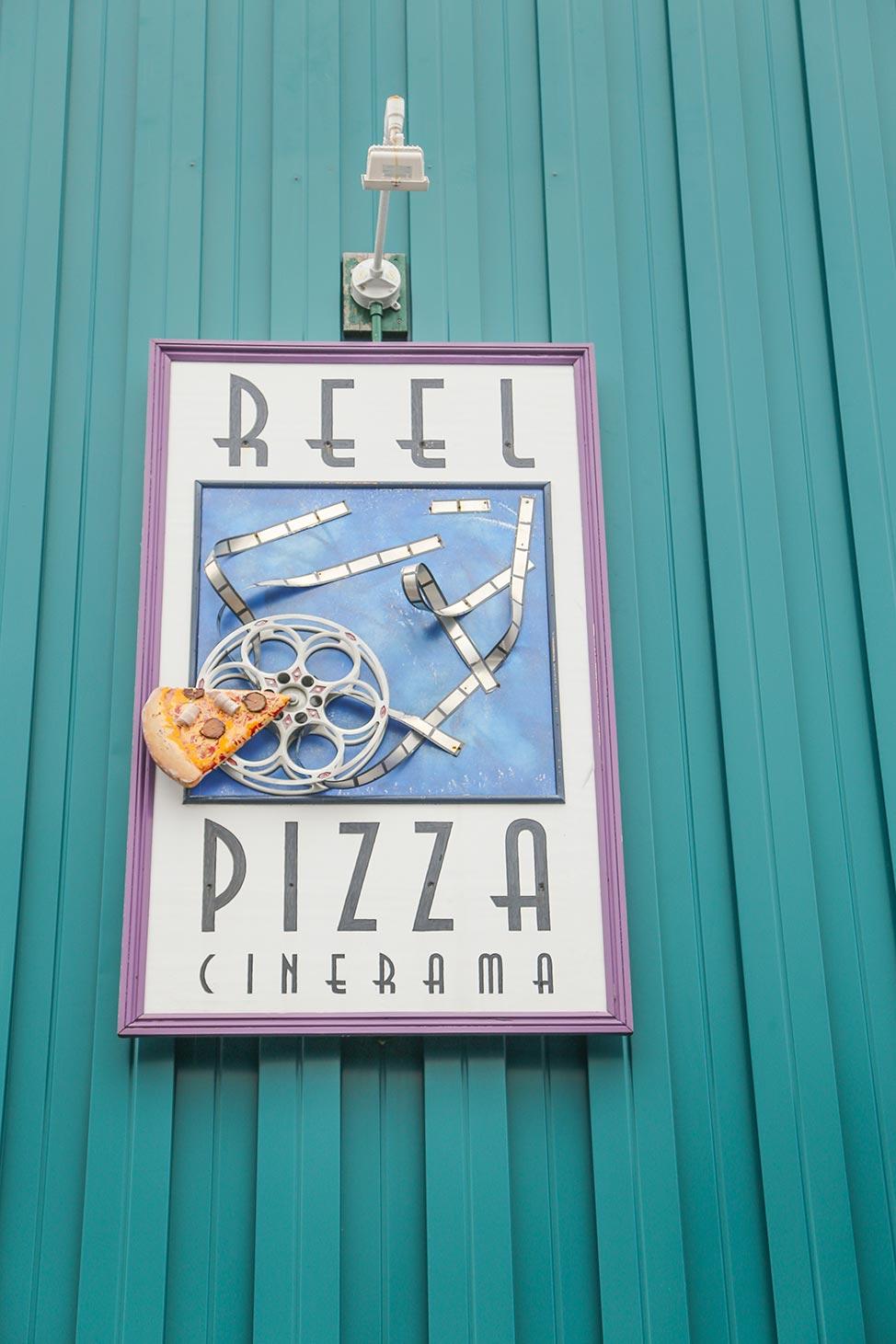Reel Pizza Cinerama, Bar Harbor, Maine