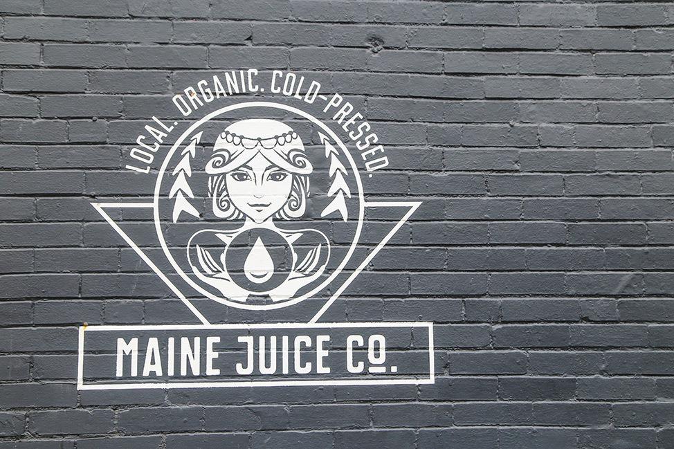 Maine Juice Co. in Portland, Maine