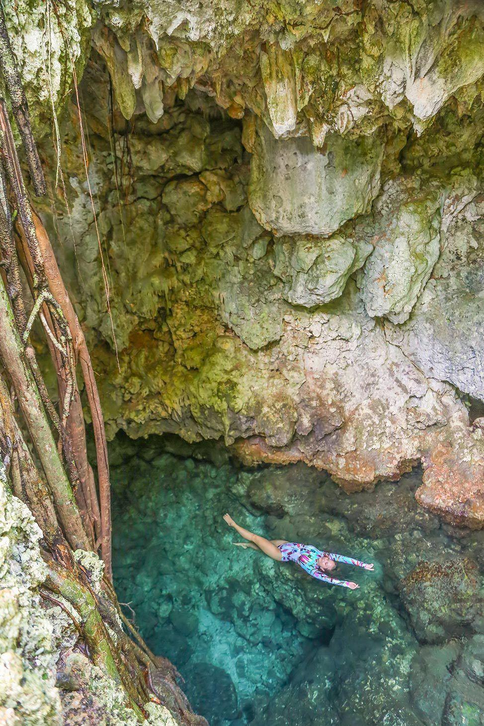 Swimming hole in Cabarete