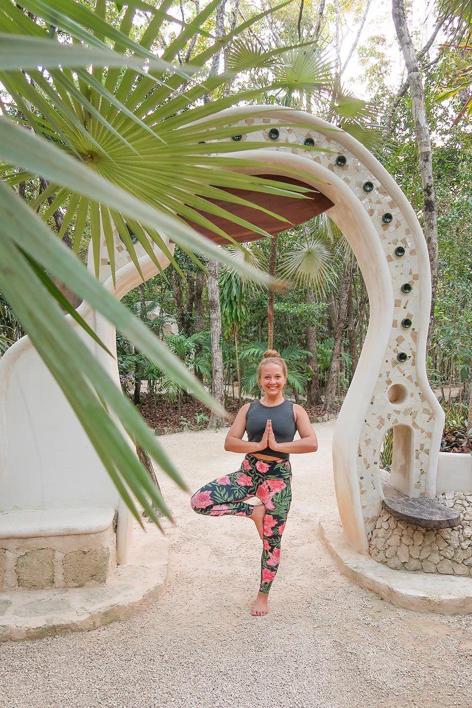 Yoga at Holistika, Tulum