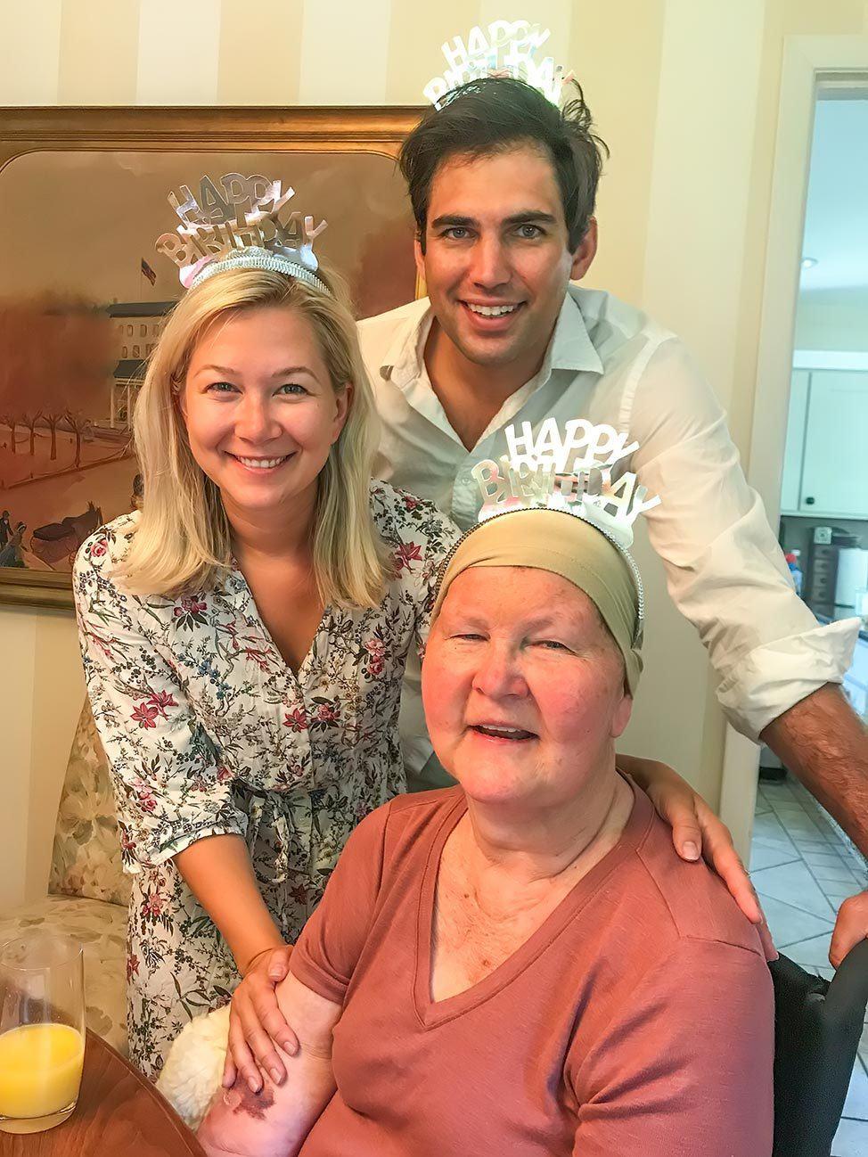 Olivia's birthday celebrations