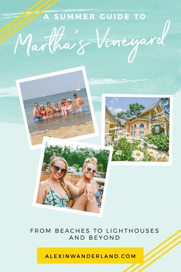 Summer on Martha's Vineyard