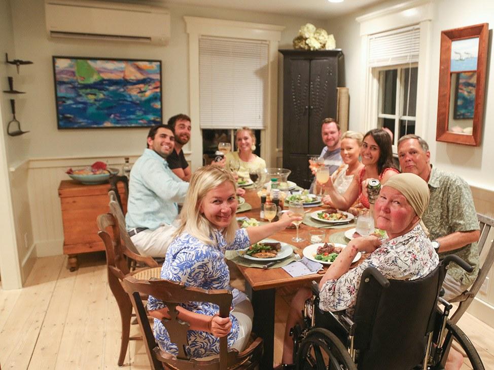 Family time on Martha's Vineyard