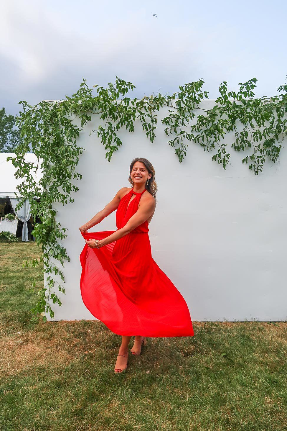 Backyard Wedding in Syracuse, New York