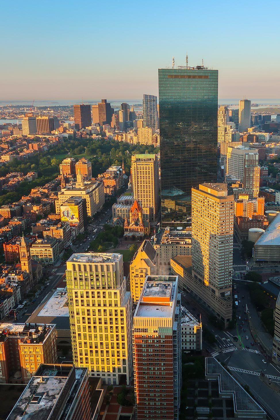 View from Skywalk Boston