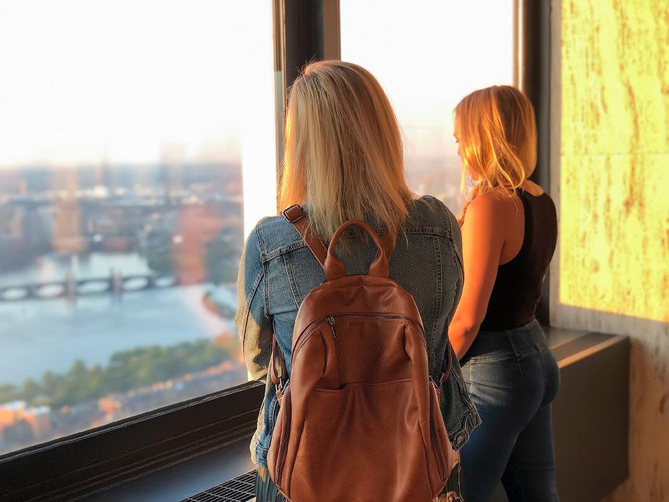 Visiting Skywalk Boston