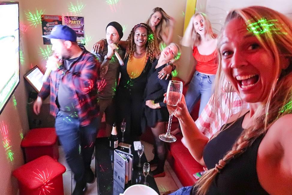 Karaoke in Boston