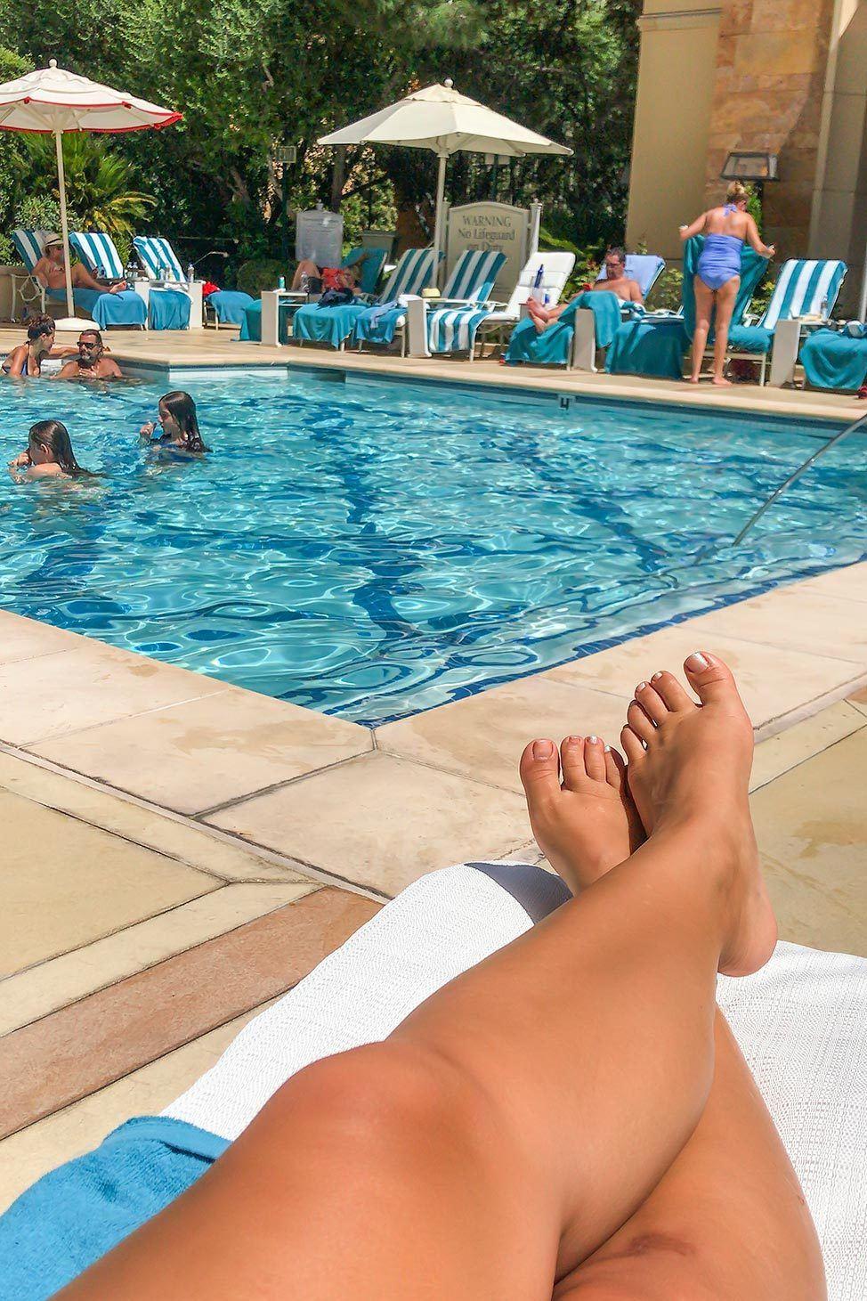Pool at The Wynn