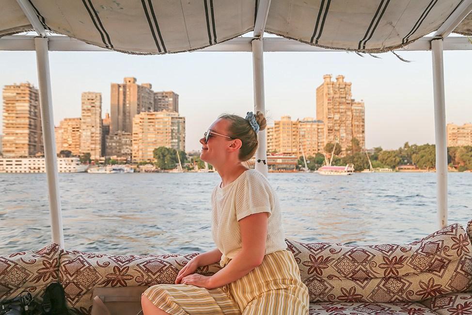 Felucca ride in Cairo, Women's Yoga Retreat in Egypt