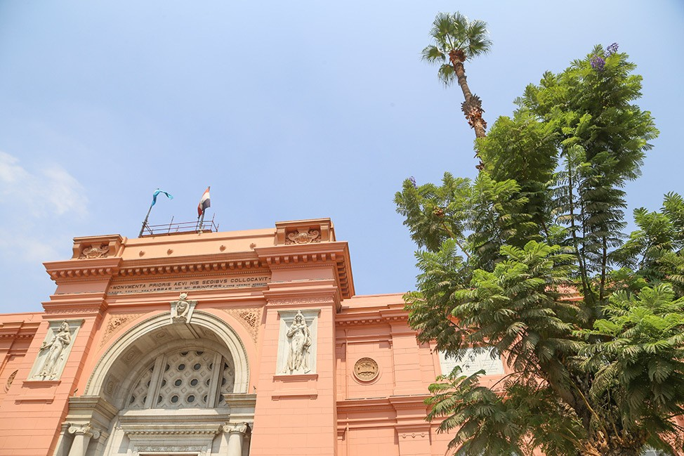 The Museum of Egyptian Antiquities in Cairo
