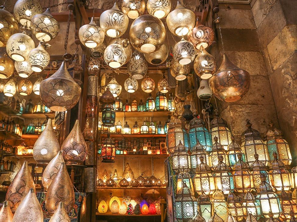 Khan el-Khalili Market in Cairo