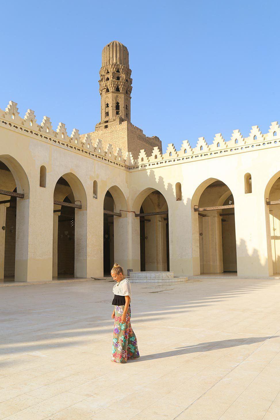 Islamic Mosque in Cairo