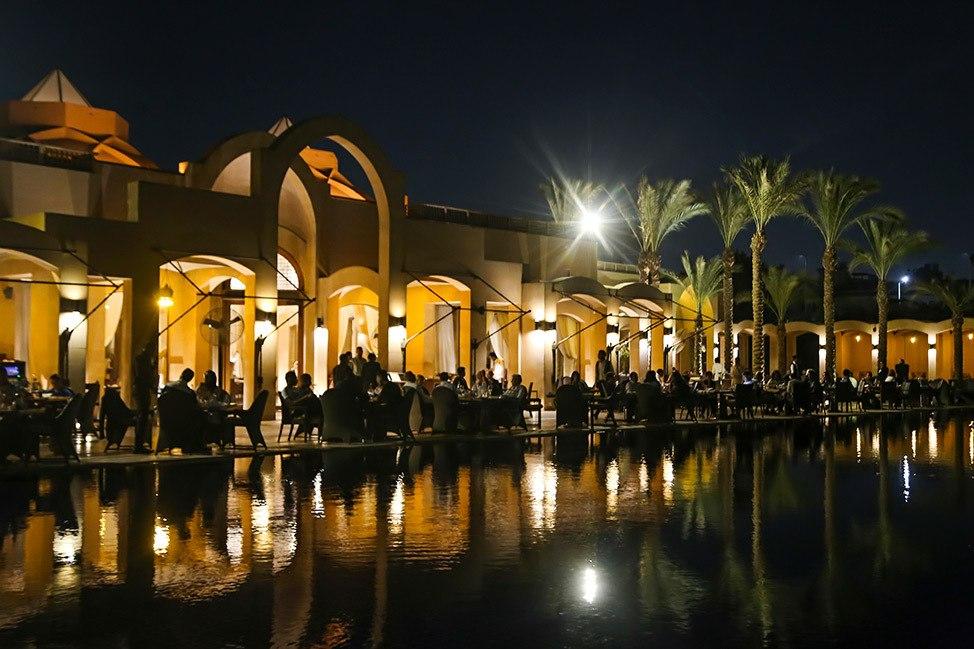 Nightlife in Cairo