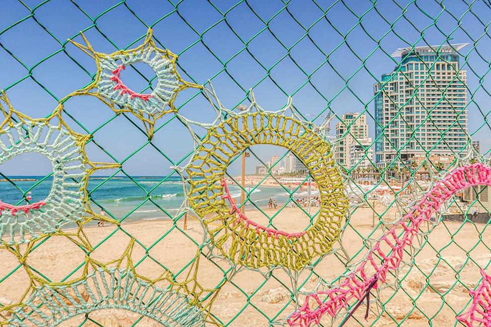Fence Art in Tel Aviv