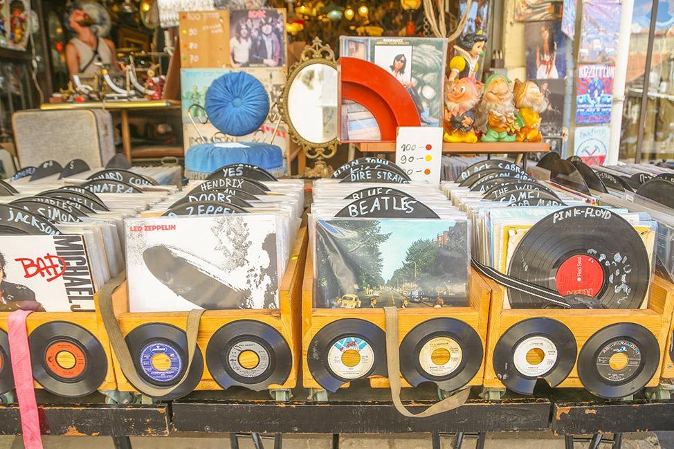 Record Shop in Jaffa, Tel Aviv
