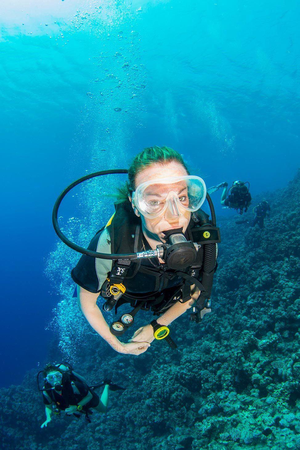 Scuba Diving in Ras Abu Galum