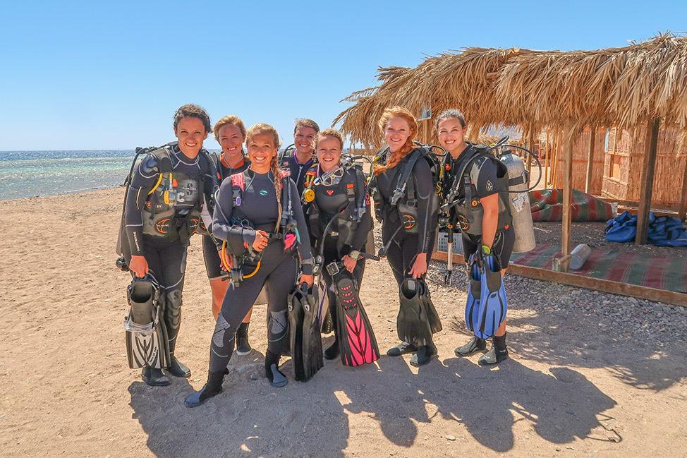 Women's Dive Retreat in Egypt