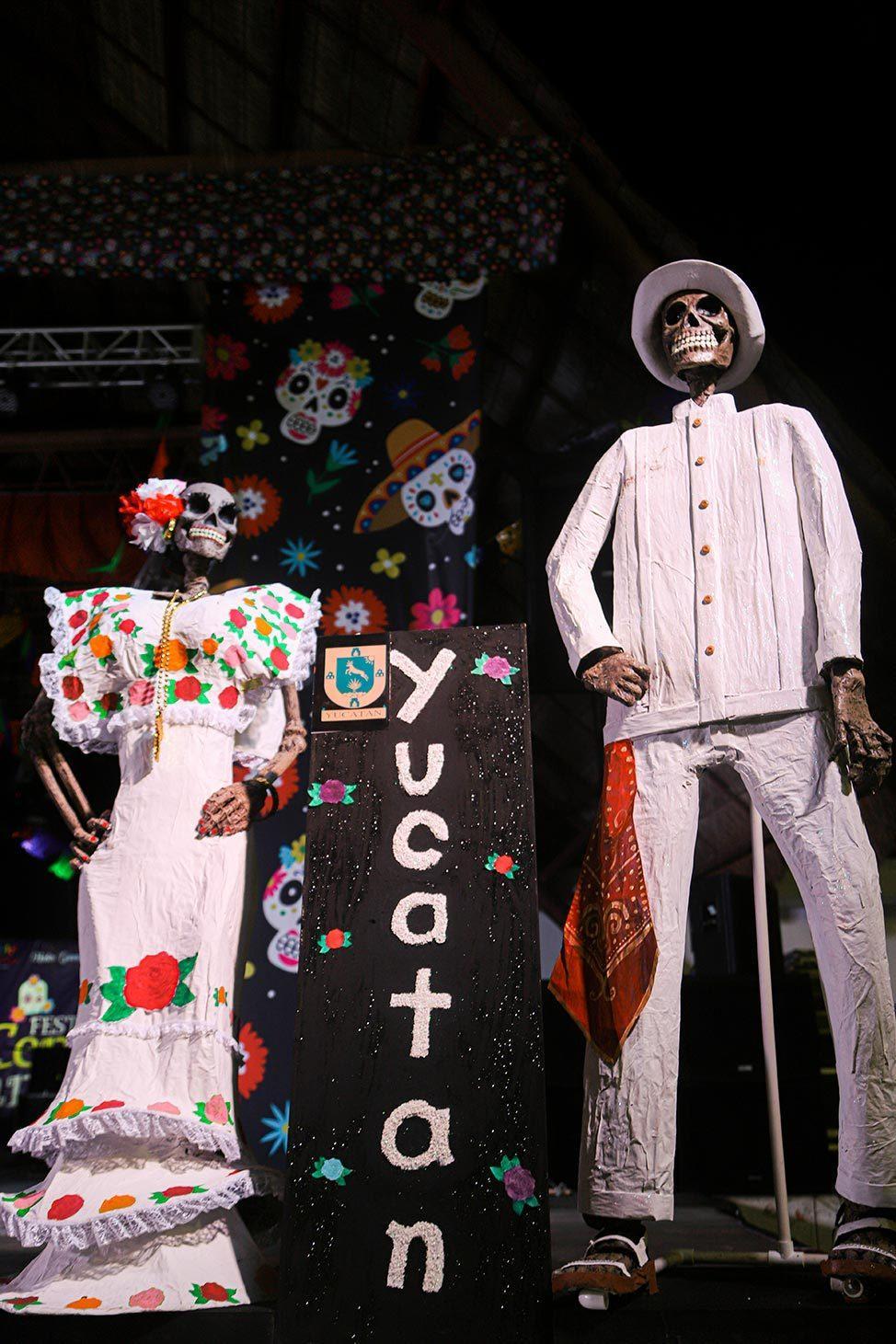 Dia De Los Muertos, Parque de las Palapas, Cancun